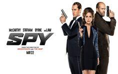 Spy is Paul Feig's latest comedy, staring Melissa McCarthy, Jude Law, Miranda Hart, Rose Byrne and Jason Statham.