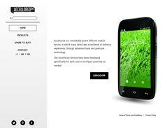 Accellorize Mobile Brasil (www.accellorizemobile.com), cliente Convey Communications, www.pluiedeideas.com.mx