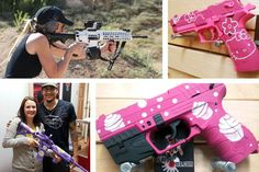 Rise of the Female Gun Nut. A woman started a fun club in her town because their wasn't one for women. Apparently 1 in 10 women in America own a gun. Brings another angle to the gun debate as well as feminist theory. Are women buying guns because they're equalizers? Why are concealers for women strange but not for men?