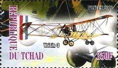 Stamp: Voisin 3 (Cinderellas) (Chad) Col:TD 2013-19/3