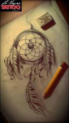 #dreamcatcher #tattoo #design