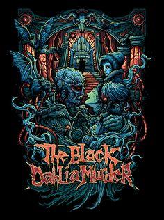 The Black Dahlia Murder, Slipknot, Pop Punk, Punk Rock, Heavy Metal, Art Ideas, Indie, Bands, Design Inspiration