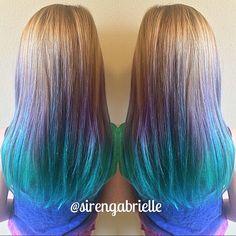 Back view 360.9537308 #sirensalon #asirenslifeforme #hairbysirengabrielle #washington #oregeon #vancouver #portland #downtownvancouver #pdx #vancouverhairstylist #portlandhairstylisy #ombre #colormelt #hairpainting #mermaidhair #mermaid #purpleombre #blueombre #tealombre #hair #haircolor #littlesiren #modernsalon #manicpanic #guytang #btcpics #americansalon #angelofcolour #hef #hairdressermagic