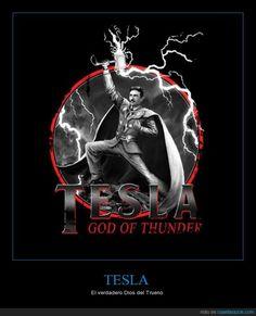 Ni Thor ni nada, de eso. El verdadero Dios del Trueno es... - El verdadero Dios del Trueno