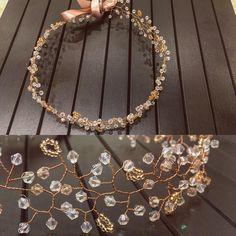 """71 Beğenme, 1 Yorum - Instagram'da Eight Ten Design (@eighttendesign): """"#bridalhairpiece #rosegold #wedding #gelinsaci #gelinsacaksesuari"""" Pearl Necklace, Hair Accessories, Bride, Pearls, Diamond, Wedding, Jewelry, Instagram, Fashion"""