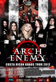 ARCH ENEMY | 01/12/2012 :: San José, Costa Rica