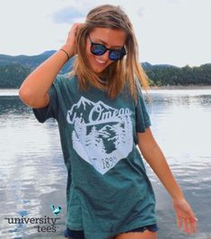 dream of the mountains | Chi Omega | Made by University Tees | universitytees.com