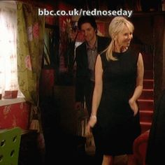 (gif) - Red Nose Day Special: Wife Swap - Richard Armitage