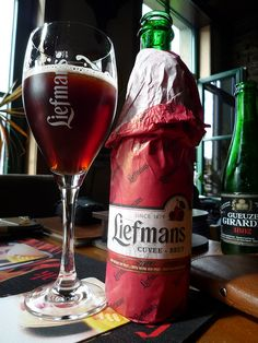 Liefmans Cuvee Brut - Sour Cherry Beer. Absolutely Delicious!