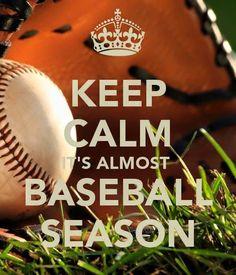 Keep calm its almost baseball season