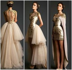 #fashion #womensfashion #dress #gownfashion #fabolousgown #fabolusfashion #hautecouture #gown #gownfashion #goldfashionstyle #golddresses…