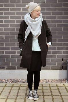 Outfit with converse / Kotisaari