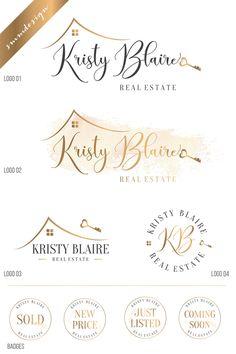 Real Estate Logo Design, Key Logo Realtor Logo, House logo, Real Estate Branding Kit, Real Estate branding package Broker Logo Heart logo 98 by savanammdesign on Etsy Real Estate Signs, Real Estate Career, Real Estate Logo Design, Real Estate Branding, Logo Real, One Logo, Realtor Logo, Heart Logo, Branding Kit