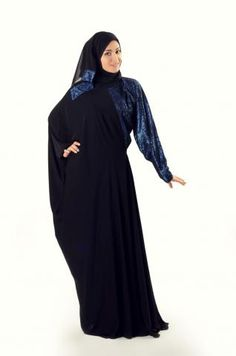 Khaleje Abaya Modern Islamic fashion just got better with this elegant Emirati abaya. Combining both elements of a flowing dress and a modest abaya, you'll love the way it feels. Modest fashion for the modern Muslimah! Modest Fashion, Hijab Fashion, Flowing Dresses, Islamic Fashion, Islamic Clothing, Abayas, Elegant, Feels, Outfits