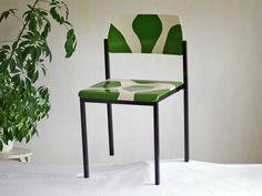Küchenstuhl rot ~ Eßzimmerstuhl treibholz alter stuhl rot ökologisch von schlüter