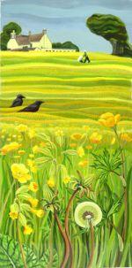 Amanda Bradbury Illustration, art and design home page Wildlife Paintings, Wildlife Art, Serval, Big Cats, Illustrators, Amanda, Birds, Fine Art, Landscape