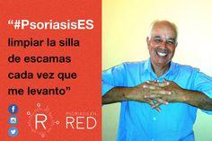 Chano comparte su foto para #PsoriasisEs. #Psoriasis #ArtritisPsoriásica #Piel #Skin