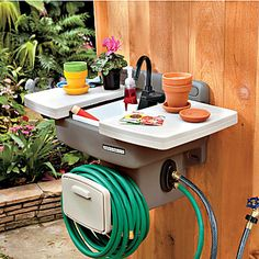 This Is Amazing Outdoor Sink No Plumbing Required