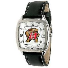 University of Maryland Terps Men's Vintage Style Retro Watch