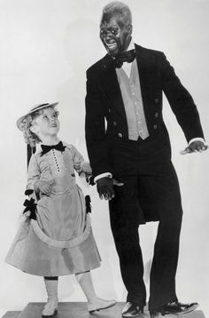 """Bill """"Bojangles"""" Robinson and Shirley Temple in """"The Little Colonel"""" (Photo courtesy of the American Tap Dance Foundation)"""