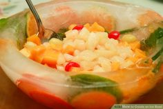 How to Create an Ice Bowl (with Pictures) - wikiHow