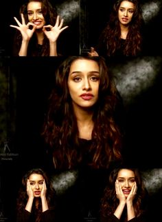 Shraddha Kapoor giving interview for Dabboo Ratnani's 2015 Calendar photoshoot