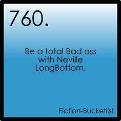 Fictional bucket list#760: Harry Potter