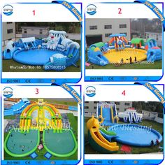 Fun kids inflatable water slide with pool for sale,outdoor water slide with pool