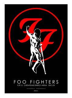 Foo Fighters - Jermaine Rogers - 2015 ----