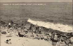 Fishing in the Surf, Montauk Point