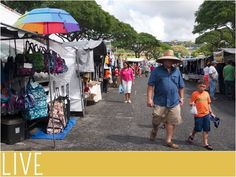 3 picks for shopping in Oahu, Hawaii Went to this swap meet (flea market) in 2014