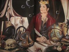 Michael, David Nordahl, Michael Jackson's personal portraitist from 1988 - 2005, USA