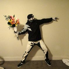 Banksy graffiti | 30 Halloween Costumes That Put All Of Us To Shame