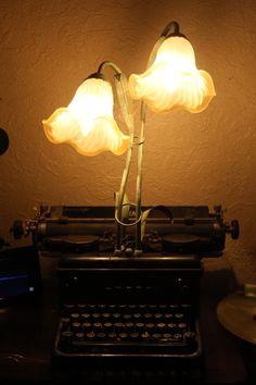 Needful Things, Typewriter, Table Lamp, Lights, Home Decor, Typewriters, Lighting, Table Lamps, Decoration Home