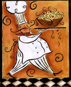 Whimisical Chef II (pasta)