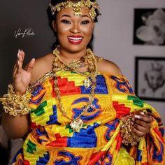 Kente dress Women wearing kente fabric  Ghana Fashion Women's Ethnic Fashion, Ghana Fashion, African Fashion, Ethnic Outfits, Ethnic Clothes, Kente Dress, Types Of Hats, Mexican Outfit, Clothing Logo