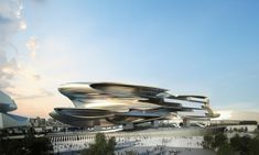 Museum by Coop Himmelblau (Beijing National)