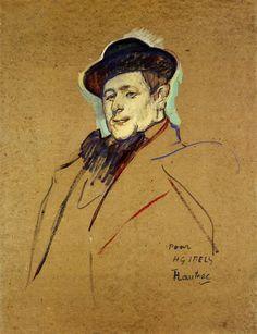 Henri Gabriel Ibels, 1893 Henri de Toulouse-Lautrec - by genre - sketch and study