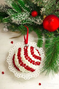 Holiday food new years recipes for super Ideas Healthy Christmas Cookies, Christmas Salad Recipes, Holiday Recipes, Xmas Food, Christmas Baking, Diy Holiday Gifts, Holiday Fun, Food Garnishes, Snacks Für Party