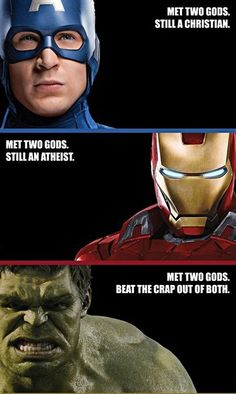 I found it funny... <3 hulk