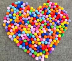 [Visit to Buy] 100Pcs/set Random color Plush Multicolour DIY Decoration Pompon Pompom Ball Fur Ball Crafts Party Favors Festival Event Supplies #Advertisement