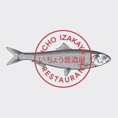 "Reposting @pberget: ... ""Brand identity Icho Izakaya restaurant | 2016 #logotype #logo #brandingdesign #logomark #branding #brand #brandidentity #trademark #france #typography #typo #engraved #premium #food #japanesefood #fish #sashimi #sushi #restaurant #stamp #paris #red #logoinspirations @bedandydesign"