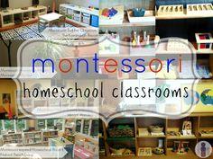 Montessori homeschool classrooms