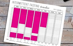 Weekly Intermittent Fasting Tracker - Color in Your Fasting Hours! Bullet Journal Lists, Bullet Journal Tracker, Bullet Journal Writing, Bullet Journal Themes, Bullet Journal Spread, Bullet Journal Inspiration, Bullet Journals, Journal Pages, Journal Ideas