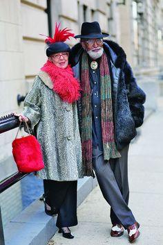 Stylish Seniors. They're both adorable!