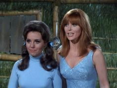Maryann and Ginger from Gilligan's Island episode Slave Girl ...