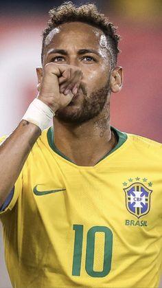 Football Icon, World Football, Neymar Psg, Neymar Brazil, Best Player, Soccer Players, Messi, Kicks, Polo Ralph Lauren