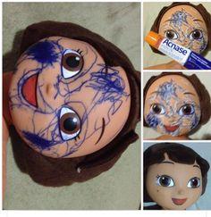 Acnase+sol: como tirar manchas de caneta da boneca