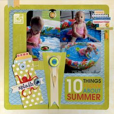 Layout: 10 Things I Love About Summer