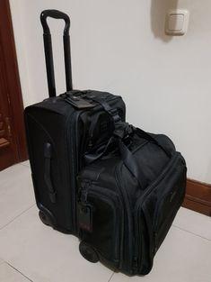 01733085af Jual TUMI Alpha Luggage 1 set koper for pilot 2 wheels Like New - Tumi  Alpha 22020DH Cabin